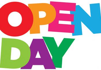 OPEN DAY! SABATO 18 NOVEMBRE