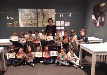 I bimbi della Scuola dell'Infanzia alla mostra sull'Impressionismo